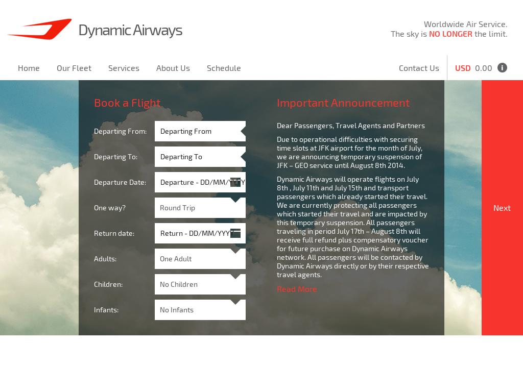 Dynamic Airways