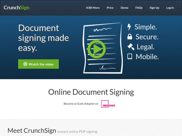 CrunchSign