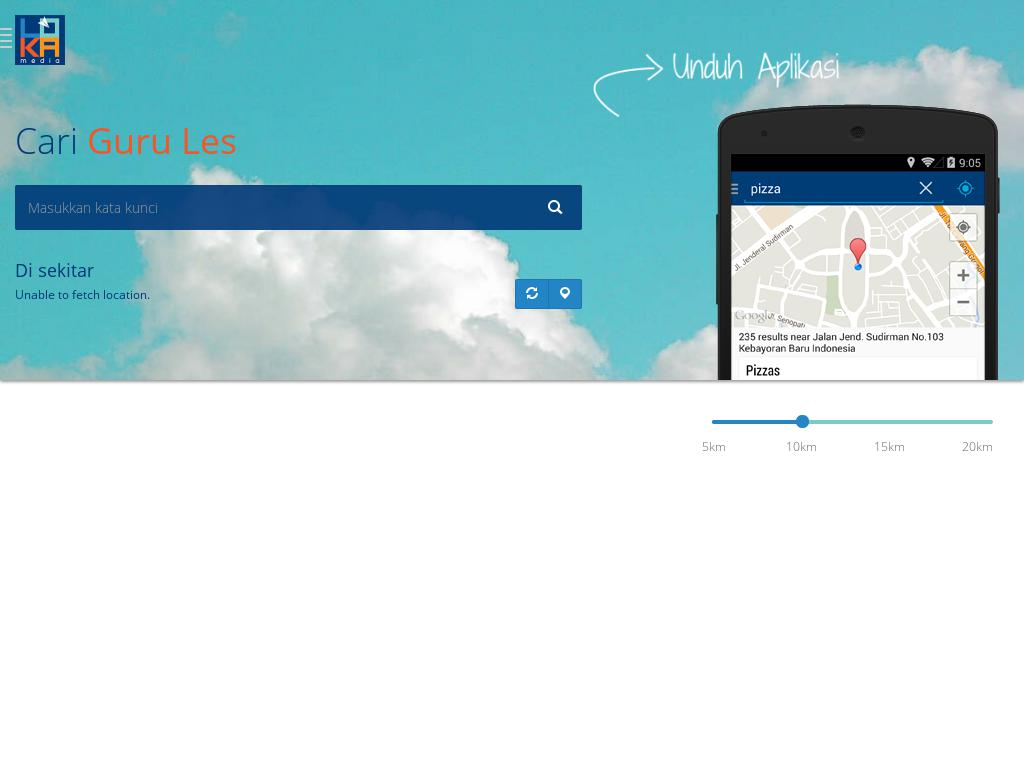 screenshot of LOKAmedia