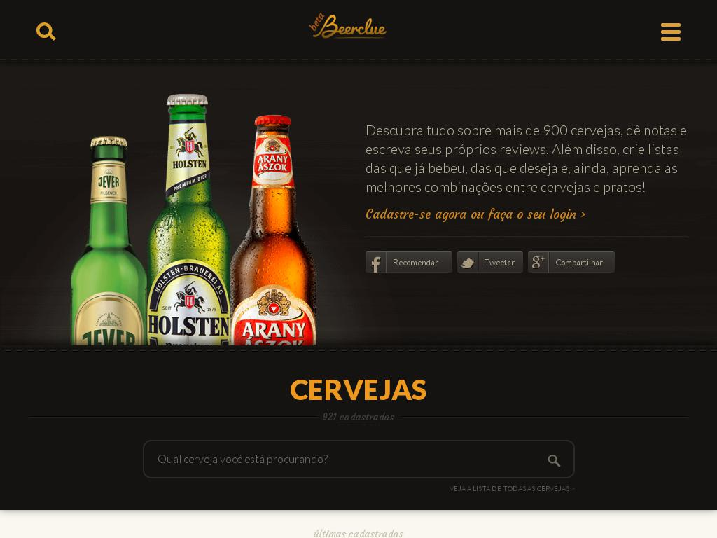 screenshot of Beerclue