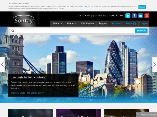 screenshot of Sontay