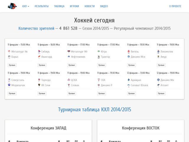 screenshot of Russian Hockey