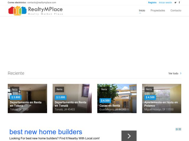 screenshot of RealtyMPlace