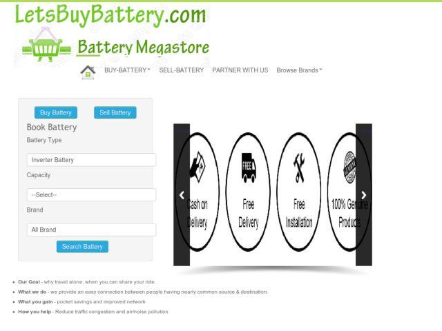 Buy Car Inverter Battery Online
