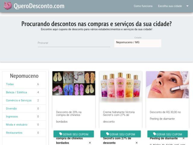 Querodesconto.com