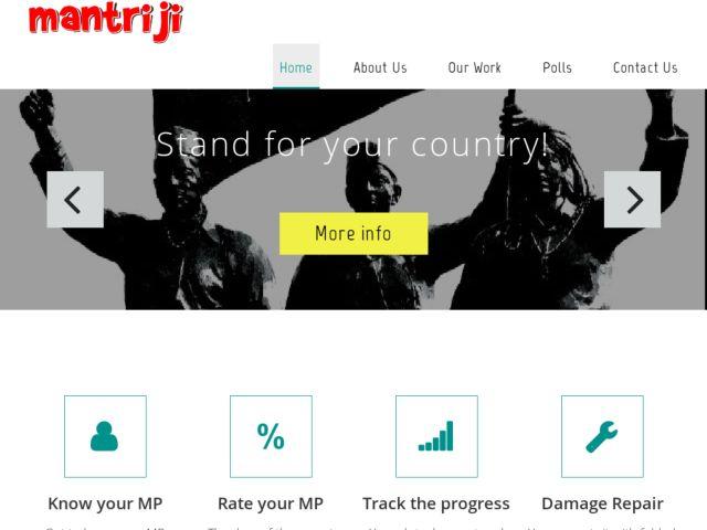 screenshot of Mantriji