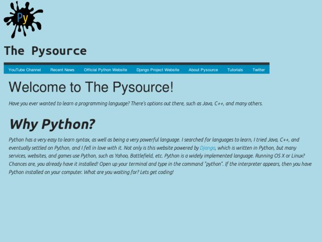 The Pysource