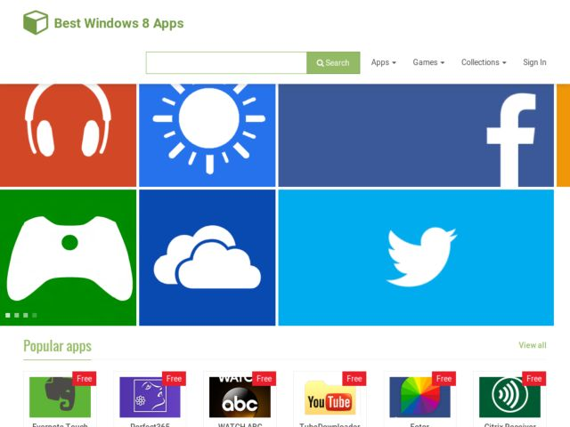 Best Windows 8 App