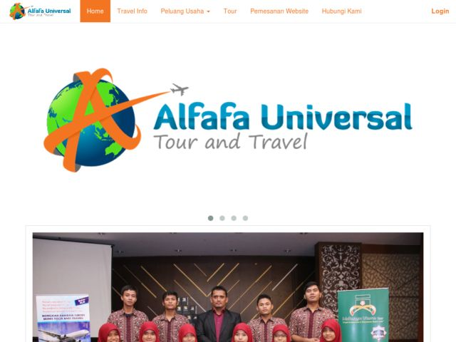 screenshot of Alfafa Universal - Tour & Travel