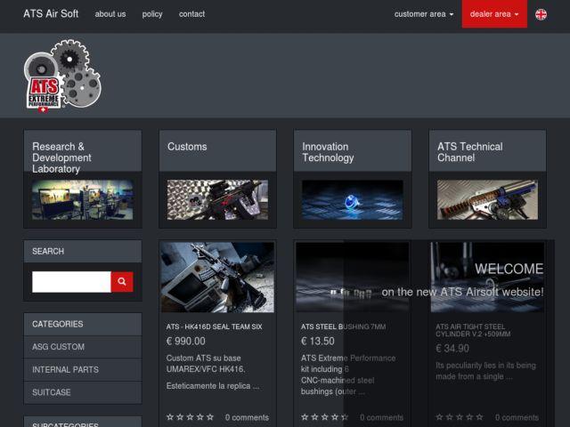 screenshot of ATS Airsoft