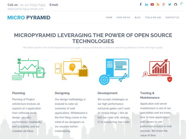 screenshot of MicroPyramid