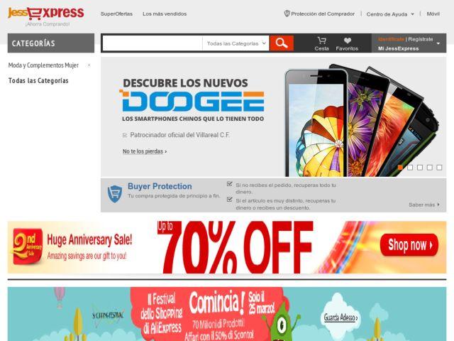 Jessexpress: Catálogo Web de productos