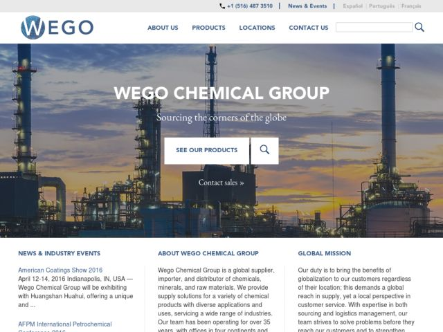 Wego Chemical Group