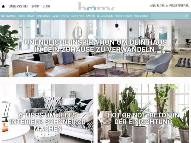 screenshot of HomeDeco.de