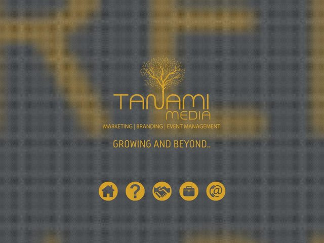 screenshot of Tanami Media