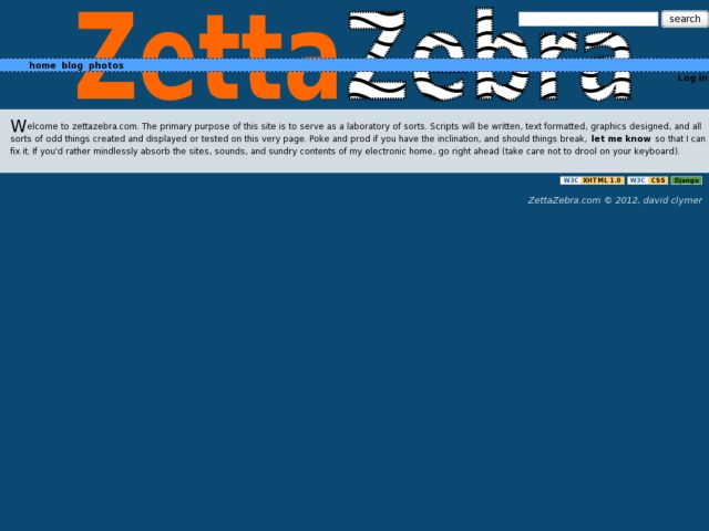 screenshot of ZettaZebra
