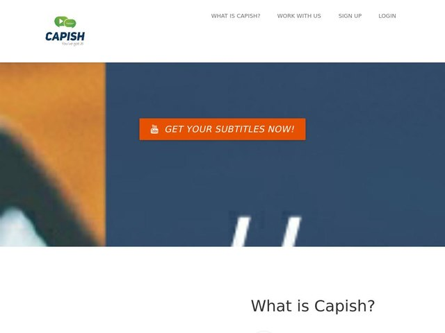 screenshot of Capish