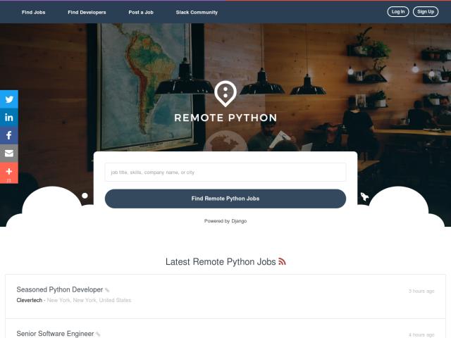 Remote Python