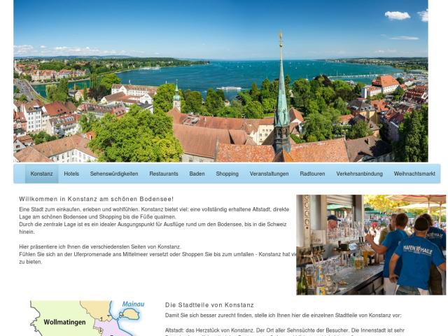 screenshot of Travel Guide Konstanz