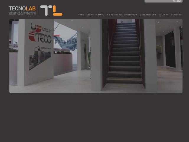 screenshot of Tecnolab Stand