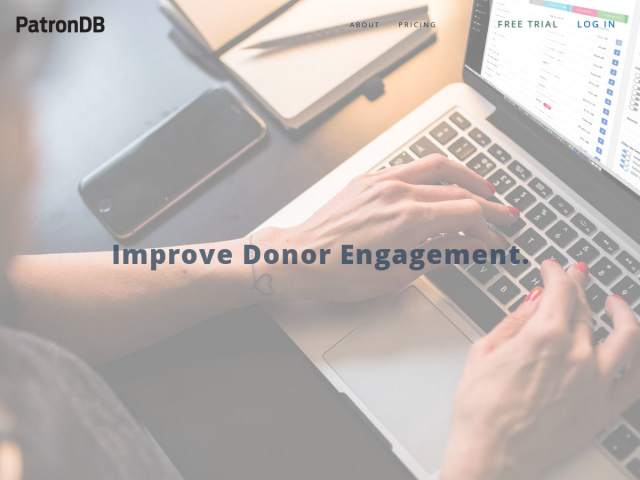 PatronDB: Donor Management Software CRM for Non-Profits
