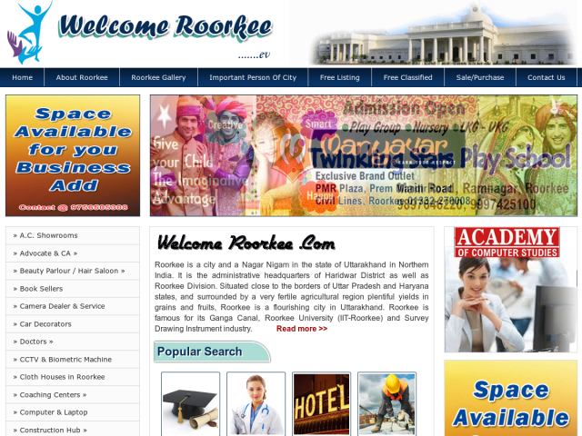 Welcome Roorkee Roorkee Business Directory And Digital Marketing