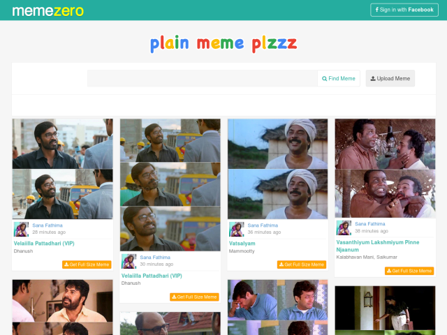 Memezero: Plain Malayalam Movie Memes for Trolls