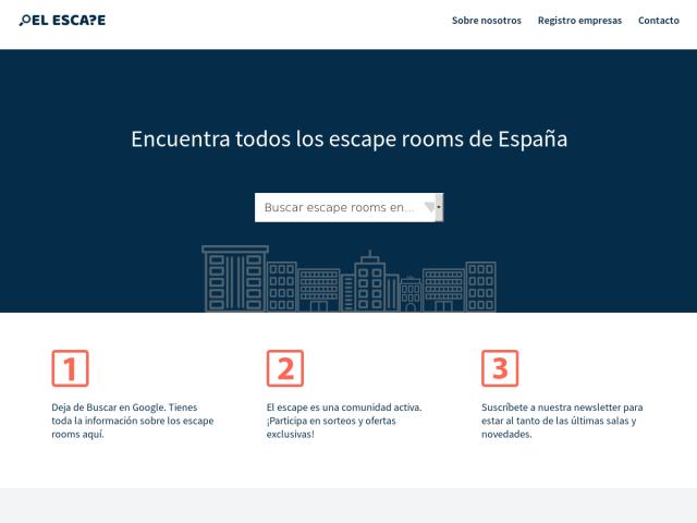 screenshot of El Escape
