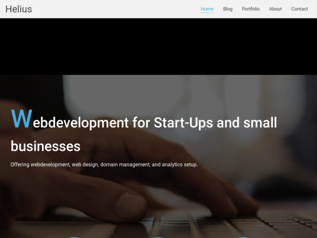 Helius - Freelance Developer