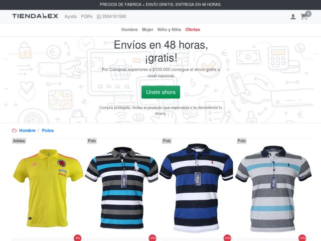 Tiendalex Colombia - Comprar Ropa a precio de fabrica