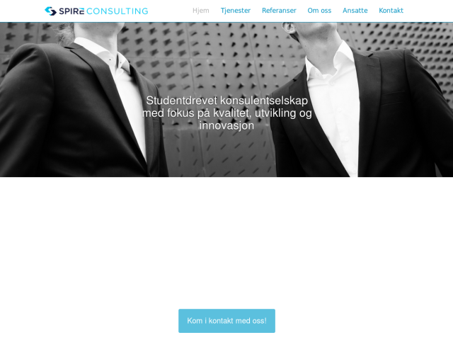 screenshot of Spire Consulting