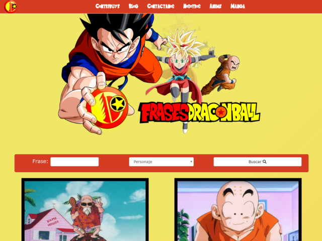 DragonBall Quotes on Spanish