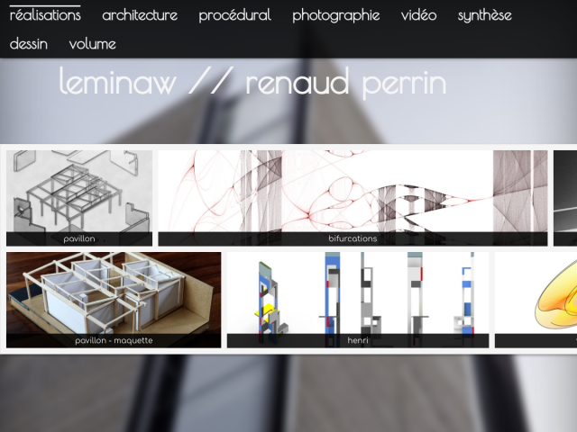 screenshot of LeMinaw // Renaud Perrin