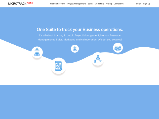 Track your business operations in detail.