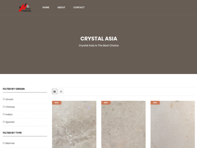 crysral asia for ceramics