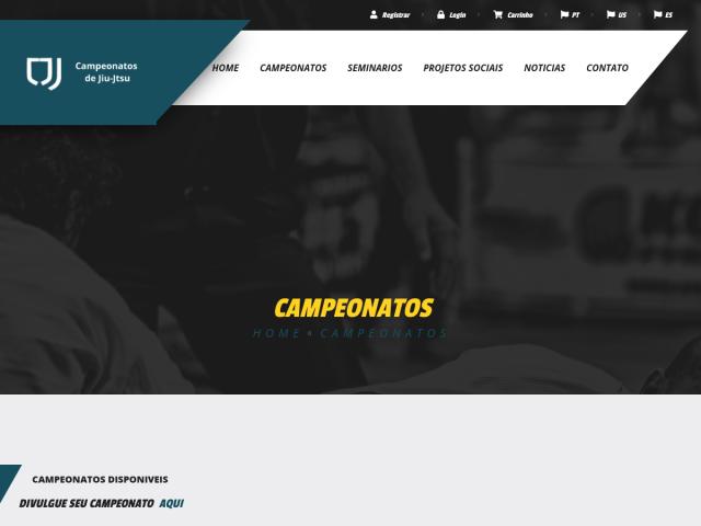 screenshot of campeonatosdejiujitsu