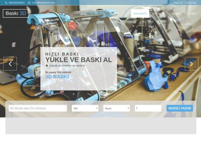 3D Online Baskı
