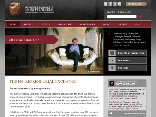 The Entrepreneurial Exchange
