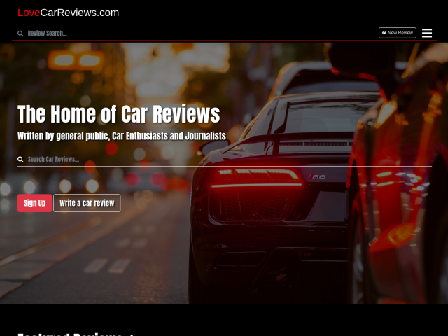 LoveCarReviews.com