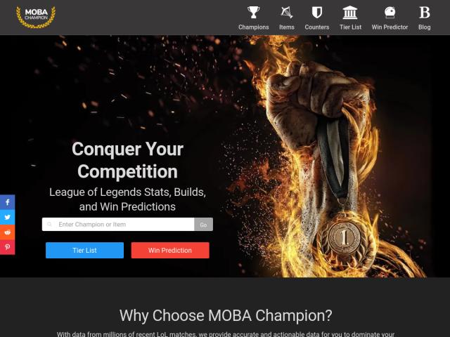 MOBA Champion