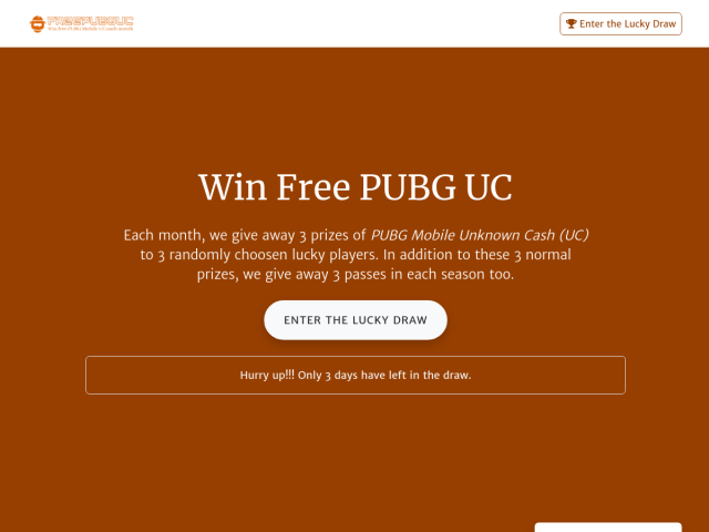 Free PubG UC (Unknown Cash) Give Away