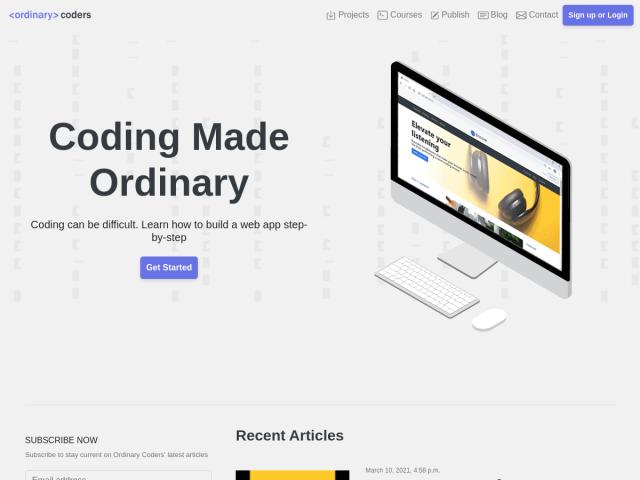 Ordinary Coders