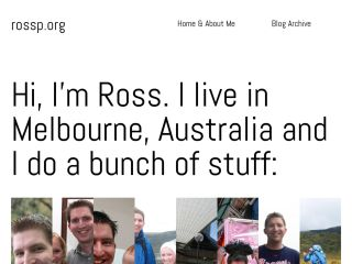 Ross Poulton's Website