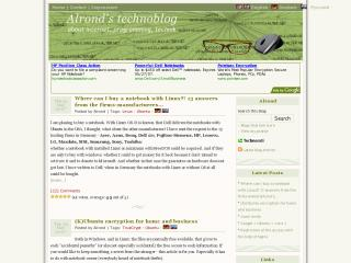 Alrond's technoblog
