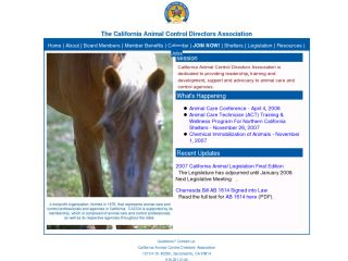 California Animal Control Directors Association