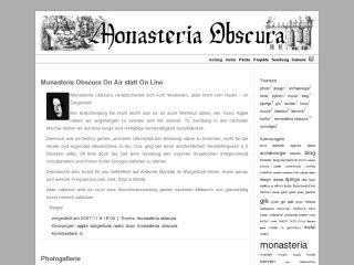 Monasteria Obscura