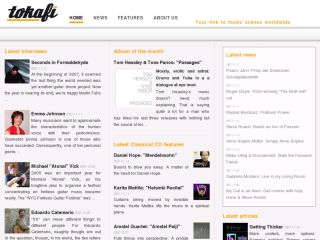 tokafi - your link to music scenes worldwide