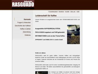 Rasguado - Leidenschaft für Kaffee