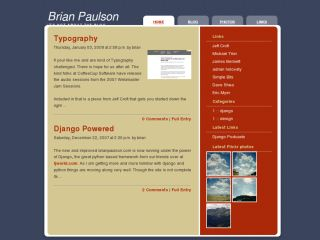 BrianPaulson.com - It's not about the blog
