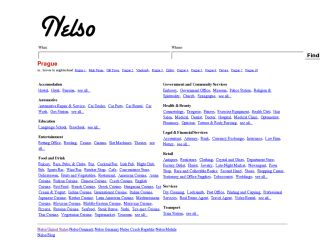 Nelso - Prague Local Search
